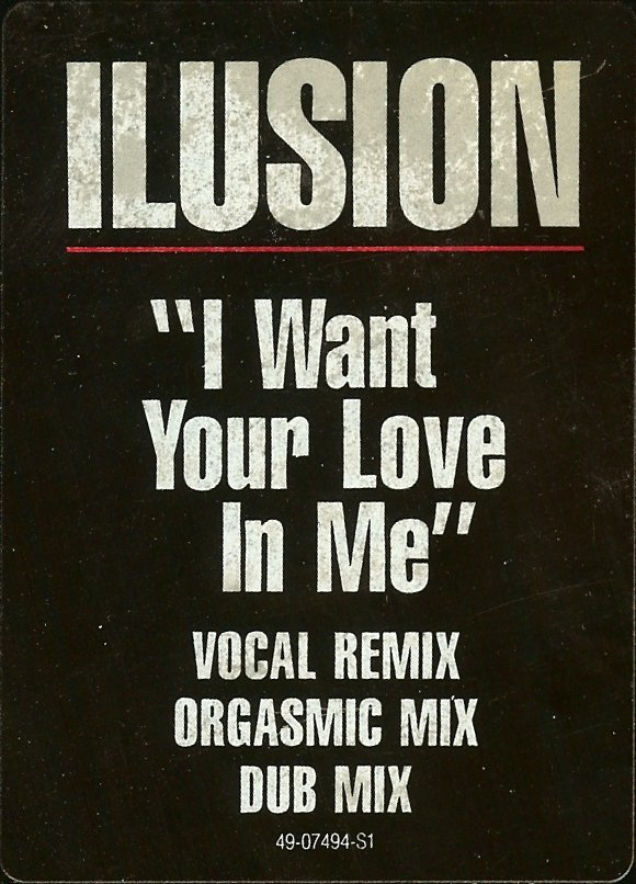 I Want You In Me i think the lesson here
