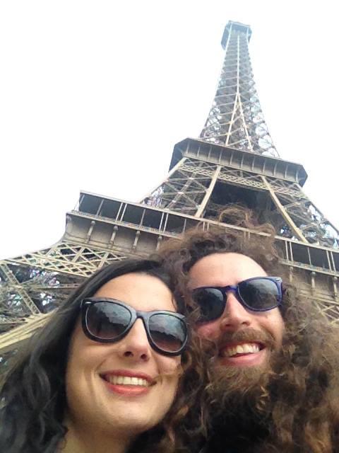 La Tour Eiffel selfie